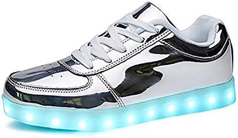 Rojeam Unisex Erwachsene LED Schuhe Sportschuhe USB Lade Outdoor Leichtathletik Beiläufige Paare Schuhe Sneaker
