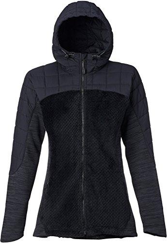 Burton Women's [Ak] Zulu Insulator Jacket, True Black Heather, - Fleece Jacket Lightweight Burton Ak