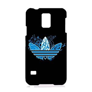 3D Elegant Design Pattern Adidas Logo Durable Phone Case for Samsung Galaxy S5 I9600 Luxury Adidas Logo