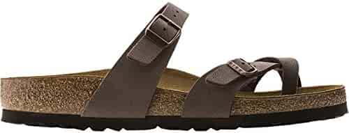 Birkenstock Women's Mayari Mocha Birkibuc Sandal 42 N (US Women's 11-11.5)