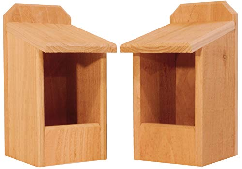 (2 Cedar Nesting Boxes)