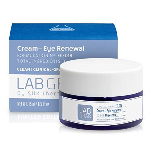 LabGrab Cream-Eye Renewal Revitalizing Eye Cream with Caffeine, Rosehip Oil and Liquid Silk, 0.5 Fl Oz