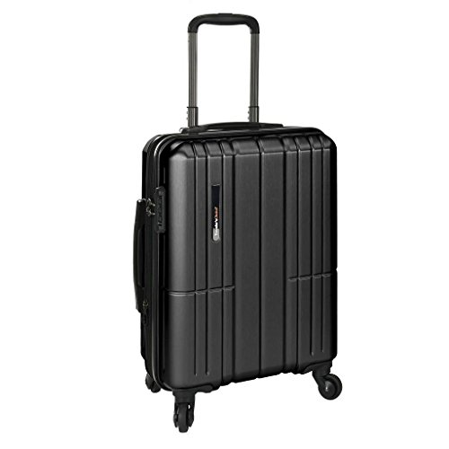 Travelers Choice 21 Inch - Traveler's Choice Wellington Polycarbonate Durable Hardshell Expandable 21-inch Carry-On Spinner Luggage Suitcase with Interior Divider System, Gray