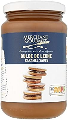 Amazon.com : Merchant Gourmet Dulce De Leche - Caramel Sauce 450g (Pack of 2) : Grocery & Gourmet Food