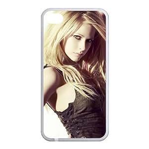 Custom Avril Back Case for iphone4,4S JN4S-154