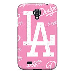 Excellent Galaxy S4 Case Tpu Cover Back Skin Protector Los Angeles Dodgers