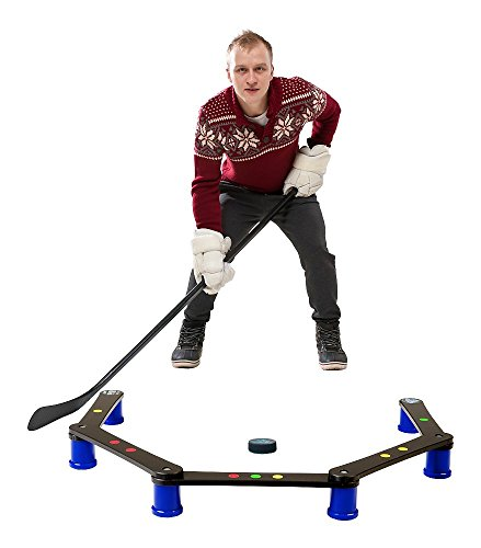 Hockey Revolution Stickhandling Training Aid, Equipment for Puck Control, Reaction Time and Coordination - MY ENEMY