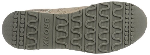 Bronx Bx 1248 Bforeverx - Zapatillas de casa Mujer Mehrfarbig (Rosegold/Taupe)