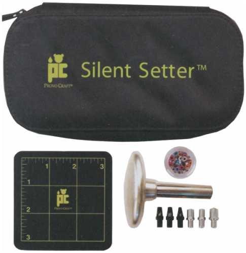 Provo Craft Silent Setter Hammerless Eyelet Tool Set 19-1035