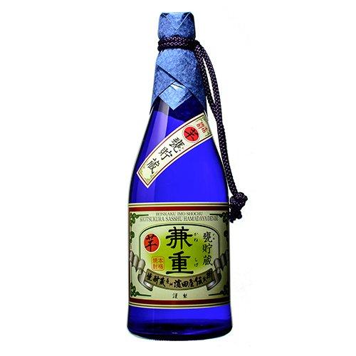 ×6 甕貯蔵 兼重 本格芋焼酎 25度 720ml瓶×6本 濱田酒造 伝兵衛蔵(鹿児島) かめちょぞう かねしげ B06VXMH4B5
