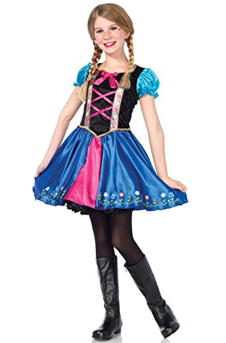 Mememall Fashion Fairy Tale Alpine Princess Outfit Child Costume (Fairy Tale Outfits For Adults)