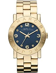 Marc Jacobs Womens Amy Gold Tone Watch - MBM3166