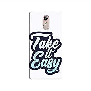 Cover It Up - Take It Easy Gionee S6s Hard Case