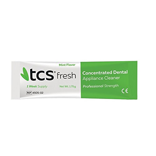 New Concentrated Denture Cleaner By Tcs Import It All