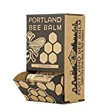 Portland Bee Balm, Beeswax Based Lip Balm - Unscented, Pack of 24