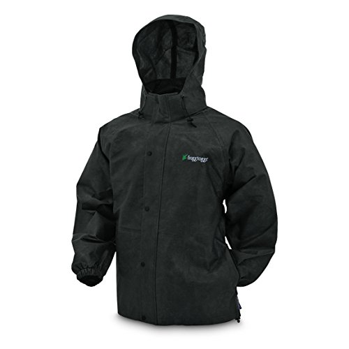 Frogg Toggs PA63123-01LG Pro Action Advantage Jacket, Black