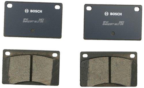 262 Volvo 1979 Brake - Bosch BP43 QuietCast Premium Semi-Metallic Front Disc Brake Pad Set