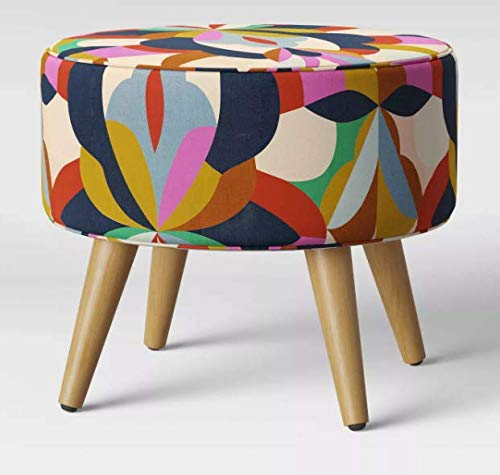 Skyline Furniture Riverplace Round Cone-Leg Ottoman - Project 62 (Bold -