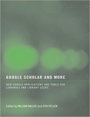 Book Google Scholar