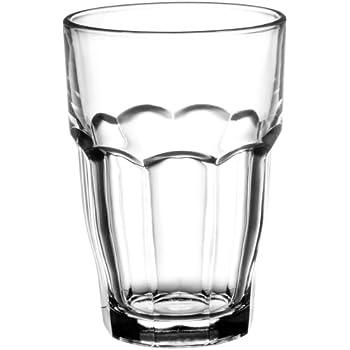 bormioli rocco rock bar stackable juice glasses 20 cl 6 3 4 0z set of 6 highball. Black Bedroom Furniture Sets. Home Design Ideas