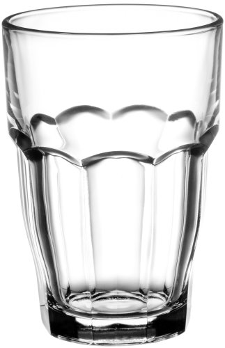 Bormioli Rocco 12-1/2-Ounce Rock Bar Stackable Beverage / Cooler Glasses, Set of (Rock Kitchen)