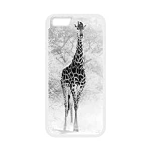 """TOSOUL Giraffe 2 Phone Case For iPhone 6 Plus (5.5"""") [Pattern-4]"""