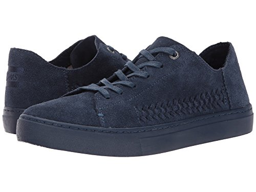 Toms Womens Lenox Sneakers Shoes (12 B (m) Us, (camoscio Destrutturato Monocromo Blu Scuro))