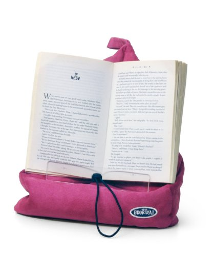 The Book Seat - Book Holder and Travel Pillow - Pink by The Book Seat