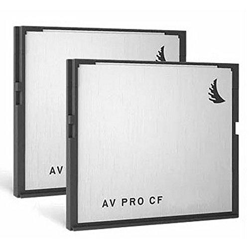 Angelbird AVP128CFX2, 128GB AV Pro 2.0 Memory Card 2 Pack by Angelbird