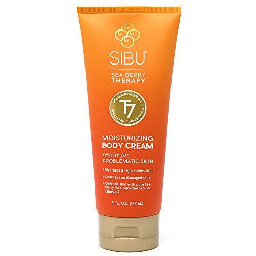 (Sibu Beauty Sea Buckthorn Moisturizing Body Cream, 6 oz)
