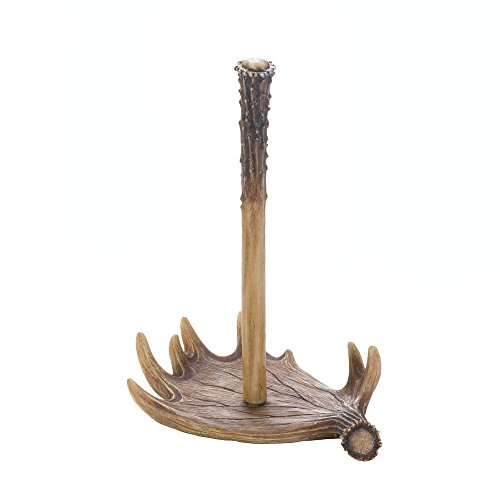 Koehler 10017741 12.75 Inch Moose Antler Paper Towel Holder -