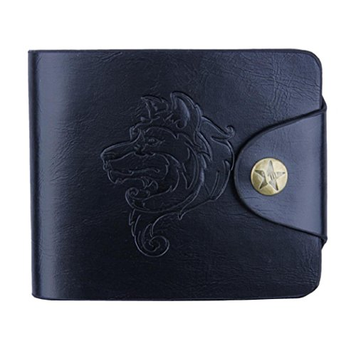 DBHAWK Men Bifold Business PU Leather Wallet ID Credit Card Holder Purse Pockets - Guys Cheap