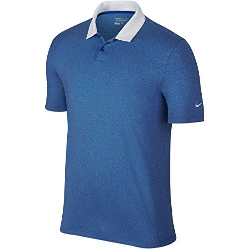 Heather Heather Blanc Pour Nike Polo Polo bleu Homme Icon nBqvWwU1WH