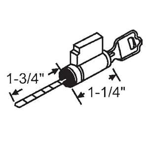 STB Sliding Glass Door Key Cylinder Lock - Door Lock Replacement Parts