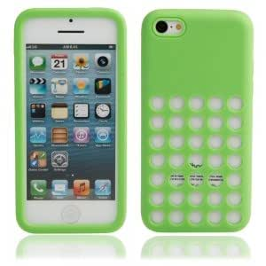 Silicone Protective Case for iPhone 5C Green