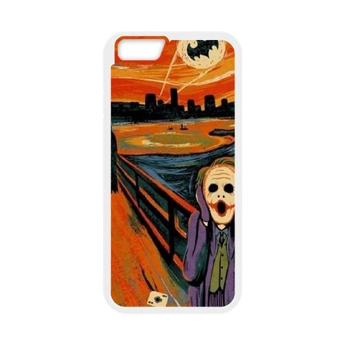 Batman Joker coque iPhone 6 4.7 Inch Housse Blanc téléphone portable couverture de cas coque EBDOBCKCO09325