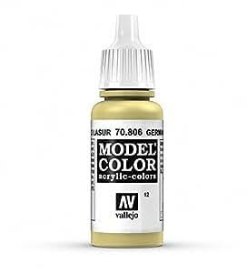 Vallejo German Yellow Paint, 17mil