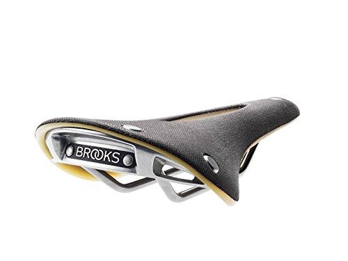 Brooks Saddles England C15 Cambium Carved Saddle, Slate