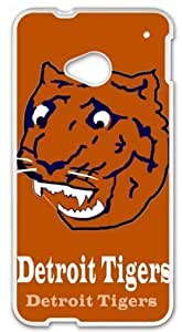 Detroit Tigers Case Cover for HTC One M7, Laser Technology Cases