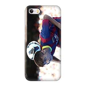 Iphone 5 / Iphone 5s Funda Case, Barcelona Football Club Neymar 3D Impact Resistant Plastic Protección Funda Case