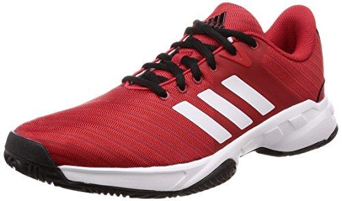 adidas Herren Barricade Court 3 Tennisschuhe Rot (Rojo 000)