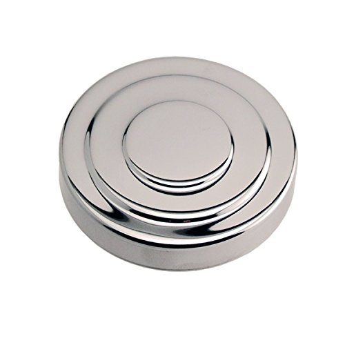 """Chrome Plated Brass Replacement Beer Tower Cap for 3"""" Diameter Tower"""