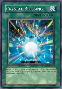 Yu-Gi-Oh! - Crystal Blessing (DP07-EN014) - Duelist Pack 7 Jesse Anderson - 1st Edition - Common