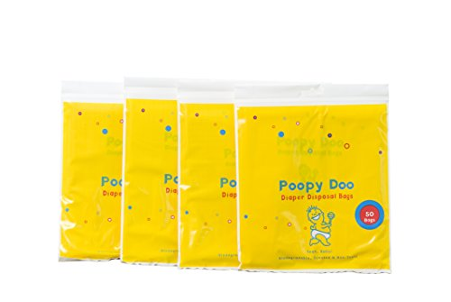Poopy Doo Diaper Disposal bags (50 Count) by Poopy Doo
