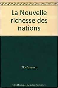Richesse des nations définition