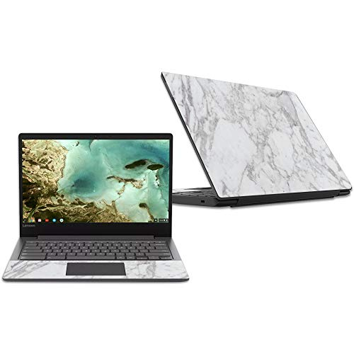 MightySkins Skin Compatible with Lenovo Chromebook S330 (2018) - Frost Marble | Protective, Durable, and Unique Vinyl Decal wrap Cover | Easy to Apply, Remove, and Change Styles | Made in The USA