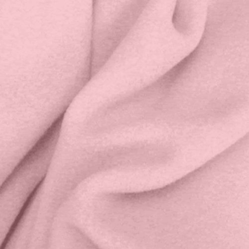 Crafty Cuts 1.5 Yards Fleece Fabric, Pink Solid