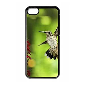 Flying Bird caso 5c funda iPhone M5Z87L9JE funda 44D7HR negro