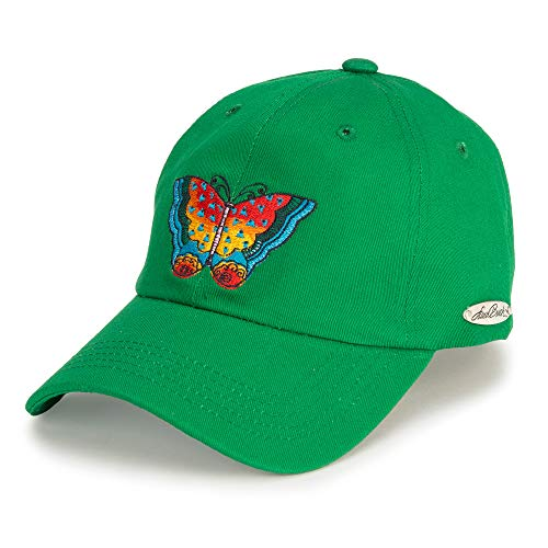 Laurel Burch Butterfly Embroidered Baseball Hat ()