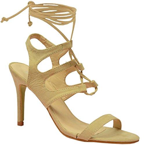 beige cheville Cucu de Bride Fashion Beige femme yYYTqSR1r